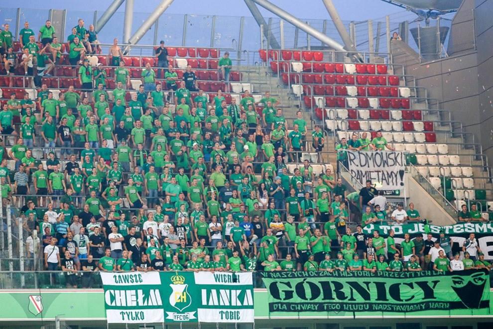 Legia Warszawa vs. GÓRNIK 09.08.14r 2