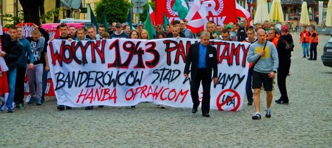V Marsz Pamięci oOfiarach Rzezi Wołyńskiej wChełmie