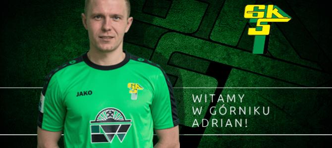 Adrian Łuszkiewicz piłkarzem Górnika
