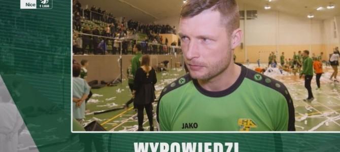 Wypowiedzi piłkarzy iprezesa poprezentacji [Wideo]