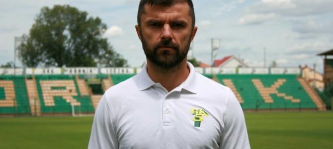 Wywiad znowym trenerem Górnika