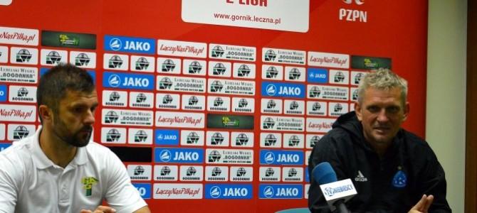 Wypowiedzi trenerów pomeczu Górnik – Ruch