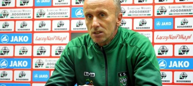 Trenerzy pomeczu Górnik – ROW