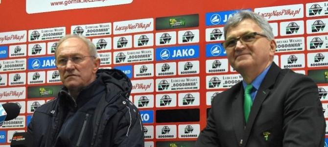 Trenerzy pomeczu GKS Bełchatów – Górnik