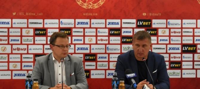 Konferencja prasowa pomeczu Widzew – Górnik