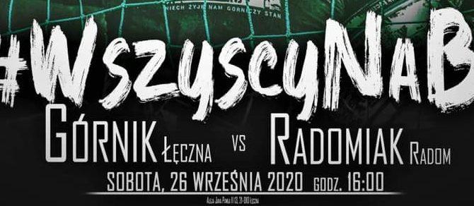 Górnik vs Radomiak. Sobota 16:00